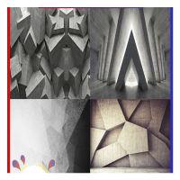 原创抽象色块卧室床头墙布3D立体几何客厅电视背景墙大型壁