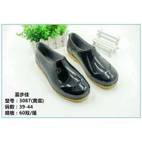 【中国塑料之乡】吴川特色水鞋雨靴加厚防滑塑胶低筒靴批发