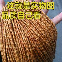 橄榄核竹节骨节米珠素珠项链108佛珠手串配饰配件节节高升挂绳