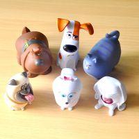 东莞工厂生产Q版塑胶手办小狗狗搪胶宠物当家注塑公仔模型玩具