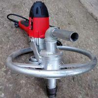 便捷简易家用打井机卡博恩园林电动打井机圆盘式水井钻机