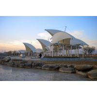 上海直供 户外膜结构景观棚 户外天幕 展览中心膜结构棚