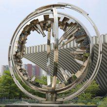 不锈钢景观城市地标雕塑 不锈钢雕塑厂家制作