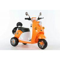 新款直销爆款米奇儿童电动三轮车 摩托车木兰踏板式脚踏电动宝宝