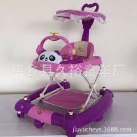 多功能可折叠防侧翻溜溜车幼儿高档助步车儿童学步车滑行玩具