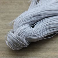 细圆形松紧带 弹性绳 高弹圆松紧绳 弹力绳 饰品配件 服装辅料