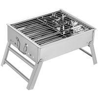 迷你烧烤架家用木炭小号不锈钢烧烤炉子户外便携折叠野外bbq碳烤