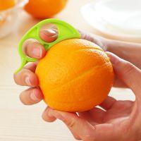 创意家居小老鼠开橙器 方便迷你剥橙器 可爱塑料削橙器水果剥皮