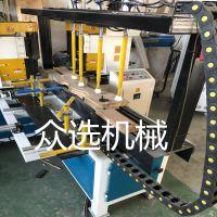 众选实木门设备木工冒头机家具制造设备