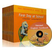 幼儿园英语教材学前分级阅读phonics哈考特Harcourt37册+1CD