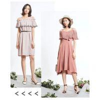 芭依璐春夏新款女装【现货】设计师服装进货