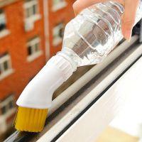 洪客 家居清洁日用品 喷水门窗缝隙除尘刷 DIY鞋刷子 创意日用