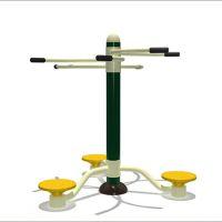 龙门县健身器材用品专卖店 公园户外健身路径扭腰器