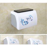 新品装卫生纸的盒子洗手间卫生间厕所纸巾盒免打孔塑料卫生纸盒吸