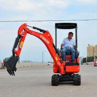 湖北襄阳工地施工多功能挖掘机 优质反铲微型挖掘机专业快速