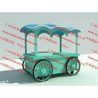 主题游乐园公园儿童卡通场所售卖产品售货亭售卖车玻璃钢售货车