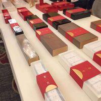 通用塑料水晶盒透明红茶岩茶环保小纸罐普洱茶饼吸塑礼品包装纸盒