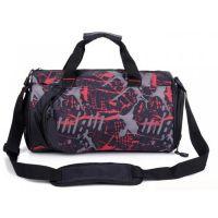 圆筒游泳健身包 单肩旅行包 行李袋跆拳道圆桶包定做定制logo