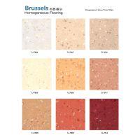 PVC地板 耐磨 布鲁赛尔无方向同透地板 上海厂家直销