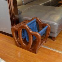杯位夹袋圈冠架 崇左镂简框拼架 凭祥木组板家具