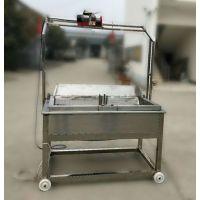 商丘厂家直销自动控温、自动清渣的烧电油炸锅