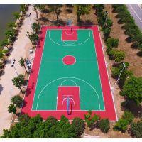 中山市丙烯酸篮球场建设 珠海羽毛球场面层铺装 柏克体育场地画线