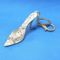 五金定制卡通金属钥匙扣 创意高跟鞋箱包挂件