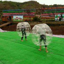 河南充气碰碰球比赛规则 个人运动会项目碰碰球趣味活动道具
