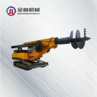 金林入岩型打桩机 旋挖钻机 履带式机锁杆旋挖钻机