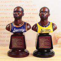 NBA球星公仔zakka篮球科比关键先生半身大摆件 树脂工艺品批发