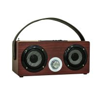 新款高质量MUSICCROWN迷你可爱无线手提插卡 蓝牙音箱 户外FM收音 CE FCC