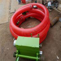 屯粮用装卸车大管径吸粮机 3相电带动长距离大管径吸粮机