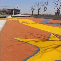 昆明百强牌XC-2013型透水混凝土胶结剂本品能增加透水混凝土胶结料
