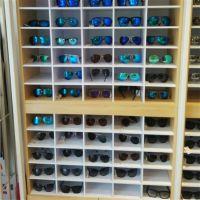 制作商超两用置地式眼镜展示柜 太阳镜展示架 直销墨镜展示收纳柜