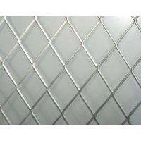 装饰不锈钢菱形网 不锈钢拉伸网 网孔2*4mm小钢板网