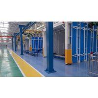 镇江电镀厂废气处理+50000风量伸缩移动喷漆房废气整体方案设计制作安装