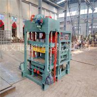 厂家生产水泥砖机、鑫达QTJ4-25B自动砌块砖机、砖机设备