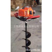 捍绿二冲程种植机DL-DZ520 地钻机 挖坑机 施肥移栽机