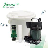 美国卓勒zoeller133型高容量污水提升器适用于洗手槽吧台水槽洗衣机等排水泵废水提升泵