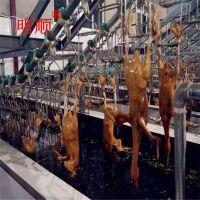 宰杀鸡鸭鹅自动化生产线 大型家禽屠宰流水线