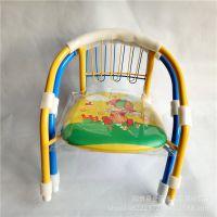 001宝宝椅  儿童带响安全椅子 卡通小餐椅 十元百货批发货源