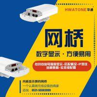 华通5.8G室外型全信息数显网桥 450M