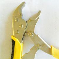 大力钳多功能钳子工具工业级圆口C型自动夹钳平头快速封口固定钳