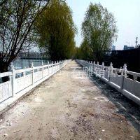 定制各种  图案石雕栏板 简易安全 公园河道 石栏杆