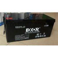 埃索蓄电池EX120-12 EXOR蓄电池12V120AH经销商价格\各种型号现货