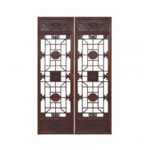 成都实木木门雕刻_中国传统木雕窗棂样式_四川雕刻门窗厂家