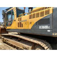 沃尔沃360BL大型二手挖掘机公司直销原装海关进口挖掘机