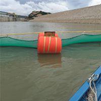 热销抱箍组合式塑料拦污浮体水上拦污漂设施