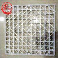 冷却塔格栅填料@冷却塔格栅填料厂家方PP形网格板——河北龙轩