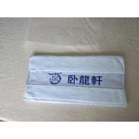 段边断档色纬提花(卧龙轩)酒店宾馆纯棉吸水毛巾厂家直销